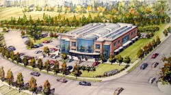 Wilsonville Road Business Park pad site