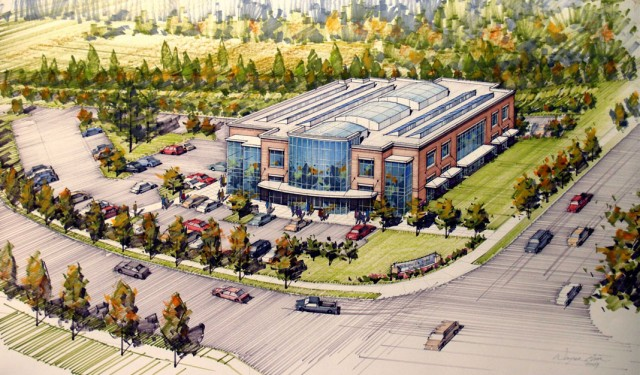 Wilsonville Road Business Park rendering