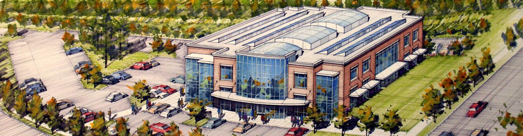 Wilsonville Road Business Park pad site