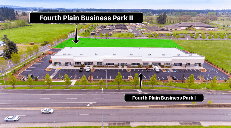 Fourth Plain Business Park II - Aerial