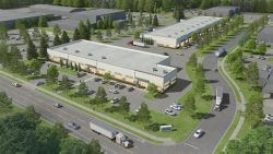 Artist Rendering of South Salem Business Park